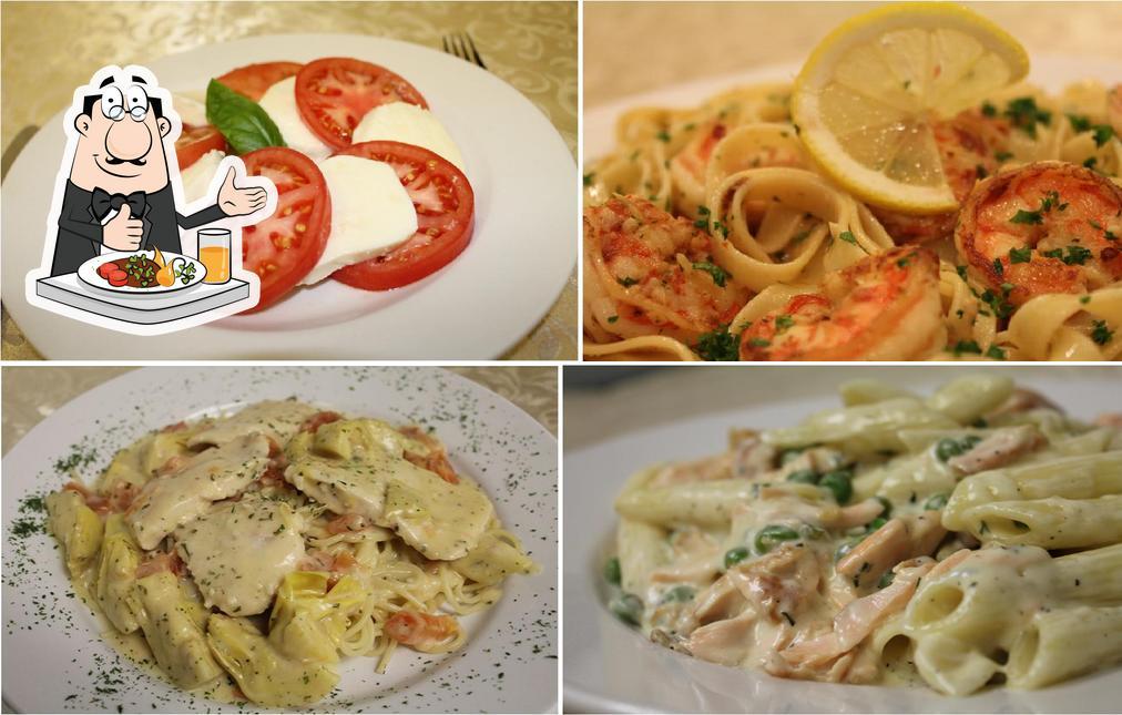 Food at Cafe Sicilia