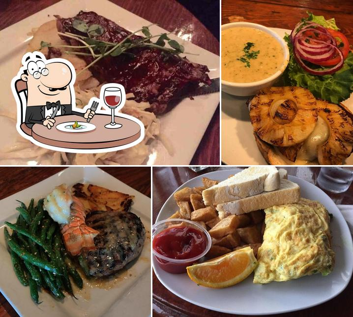 Meals at Flying Beaver Bar & Grill