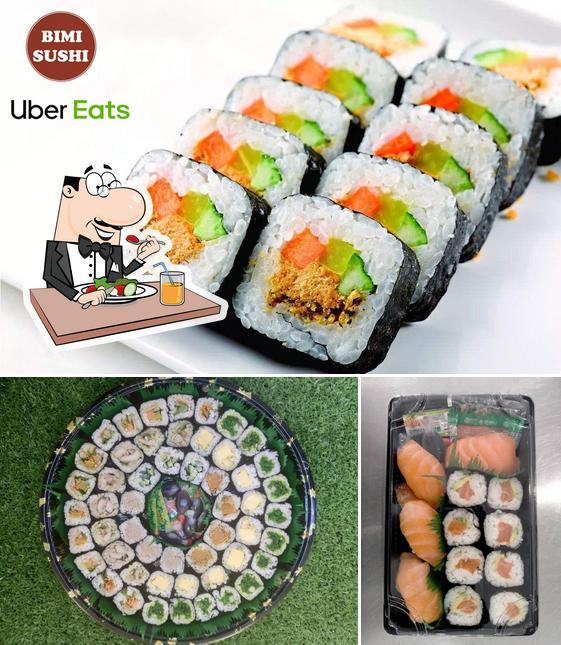 """Еда в """"Bimi Sushi"""""""