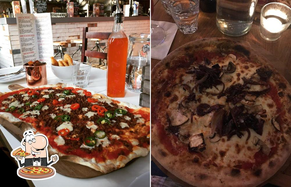 Pick pizza at Strip Joint: Pizza Place & Drinkmonger