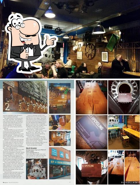 "Снимок паба и бара ""Nip & Growler Ale House"""