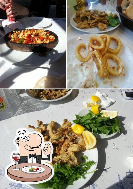 Meals at Cihan Derya Balık Lokantası