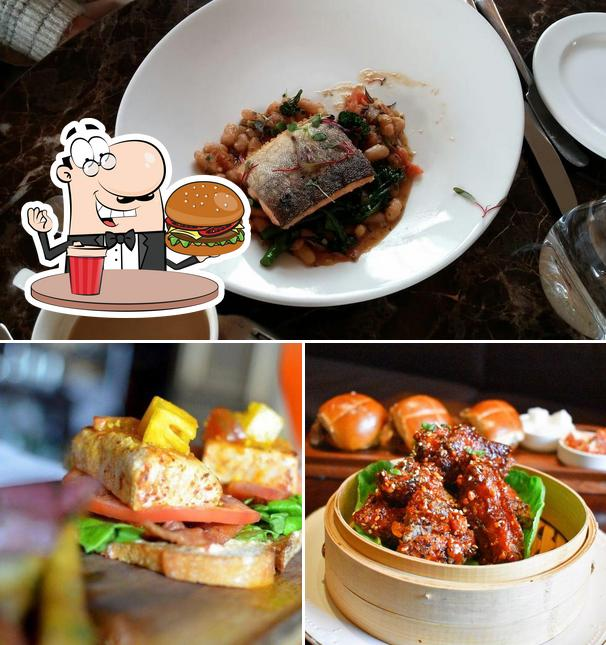 Try out a burger at XIX (Nineteen) Restaurant