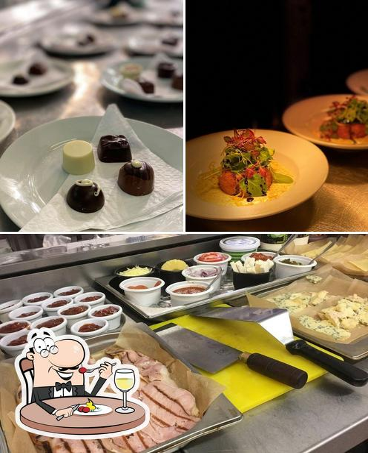 Food at The Crown