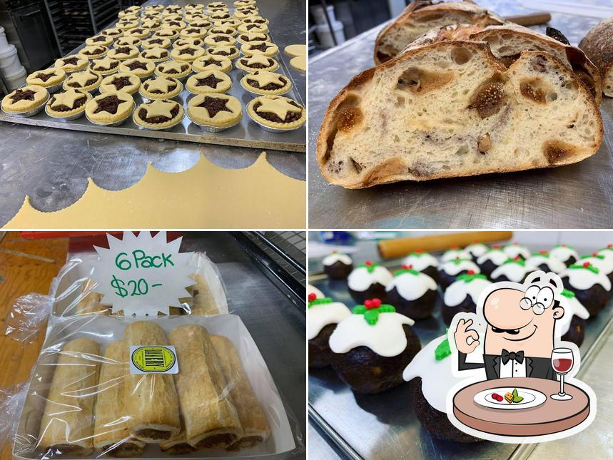 "Блюда в ""Clare Rise Bakery"""
