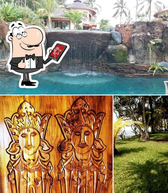 The exterior of Puri Dajuma Beach Eco-Resort & Spa
