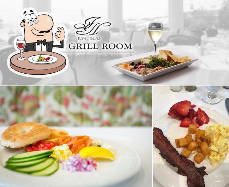 Food at 1852 Grill Room