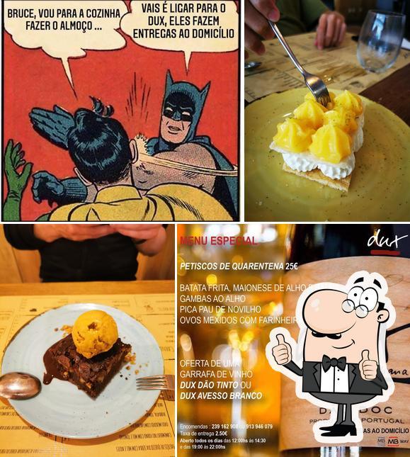 Look at this pic of Dux - Petiscos E Vinhos