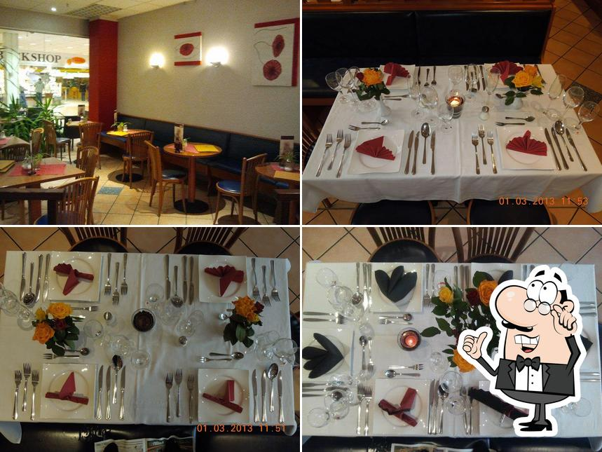 Schaut euch an, wie Restaurant Galeria Freital drin aussieht