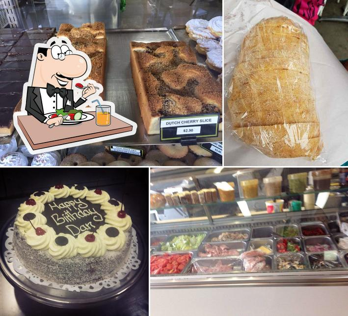Meals at DAYLESFORD BAKERY