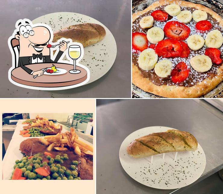 "Блюда в ""Pancho's Pizza & Pasta"""