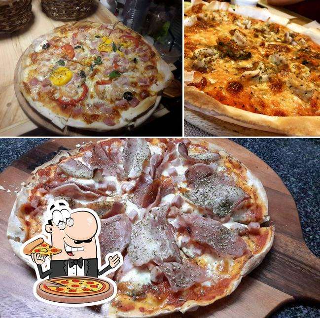 Pick pizza at Simple Thai Cafe