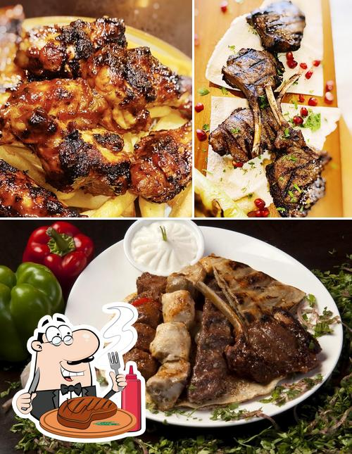 Try out meat meals at El Shams