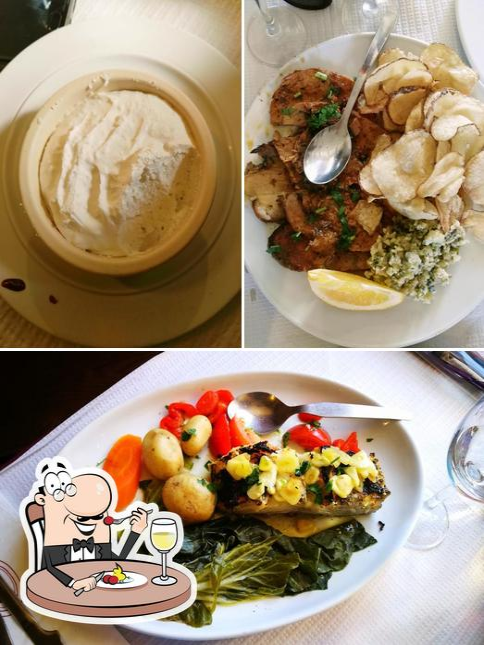 Comida em Restaurante Zé Calha