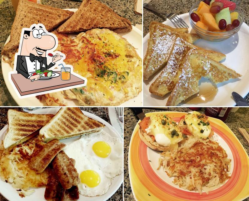 Food at Only U Cafe