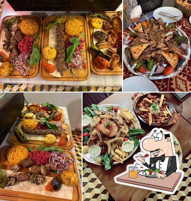 Meals at Vamos Estambul Restaurant & Cafe