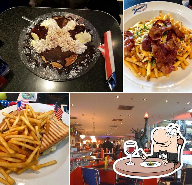 Gerichte im Jaroon's American Diner