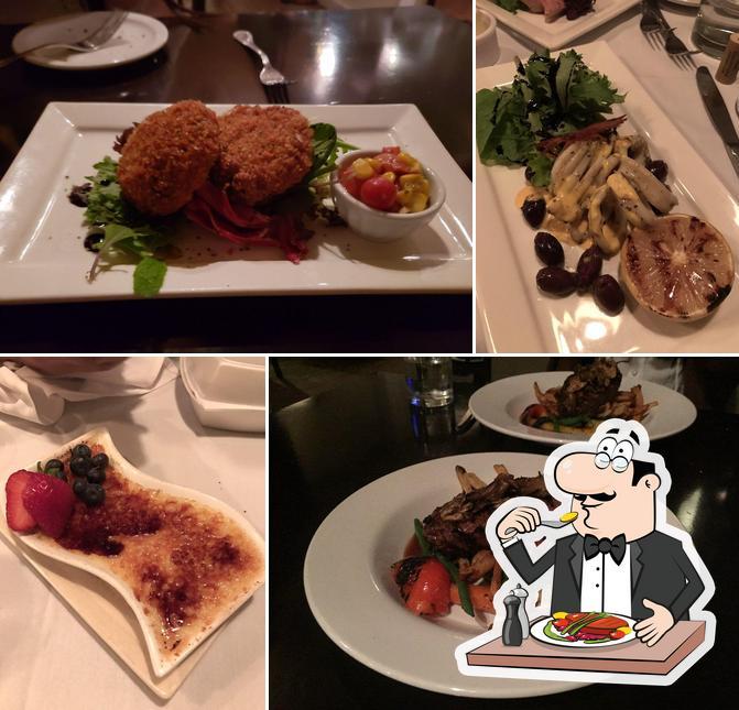 Food at Bin 23 Restaurant