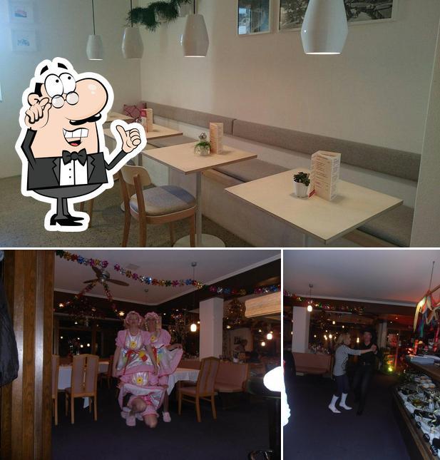L'intérieur de Café Huter