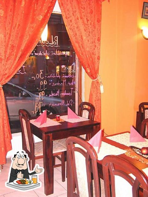 The photo of Spice India's food and interior