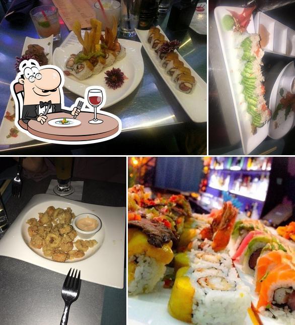 Meals at Sushi Mambo