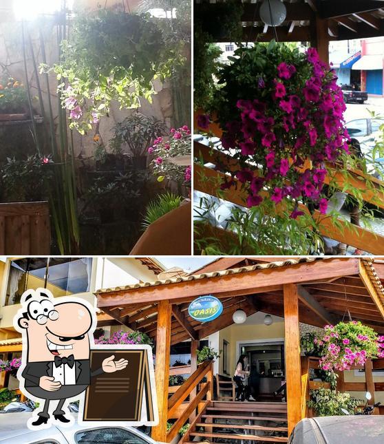 Veja imagens do exterior do Restaurante Oasis
