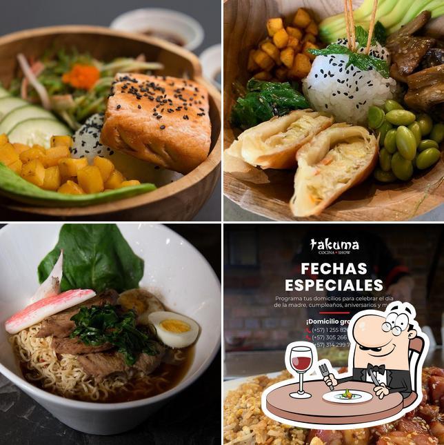 Meals at Takuma Cocina Show