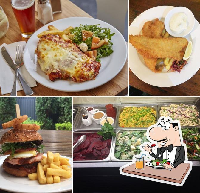 Food at Grosvenor Hotel
