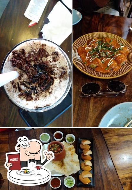 Food at Book Cafe