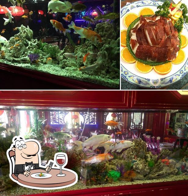 Food at China Restaurant Shanghai