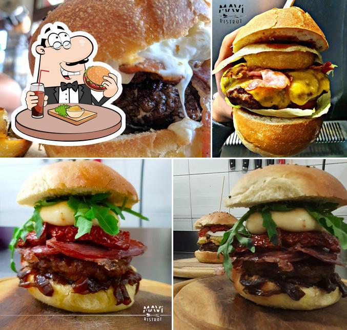 Gli hamburger di Mavì Bistrot potranno incontrare molti gusti diversi