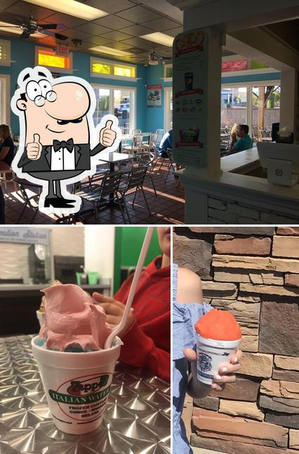 See this pic of Zeppe's Italian Ice