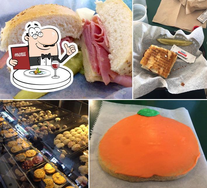 Food at Nino's Italian Bakery