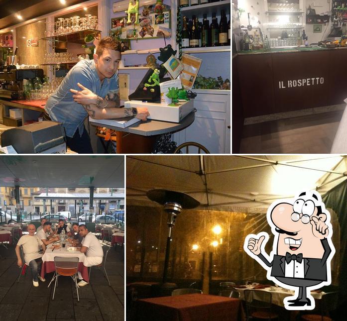 Gli interni di Pizzeria Il Rospetto Torino