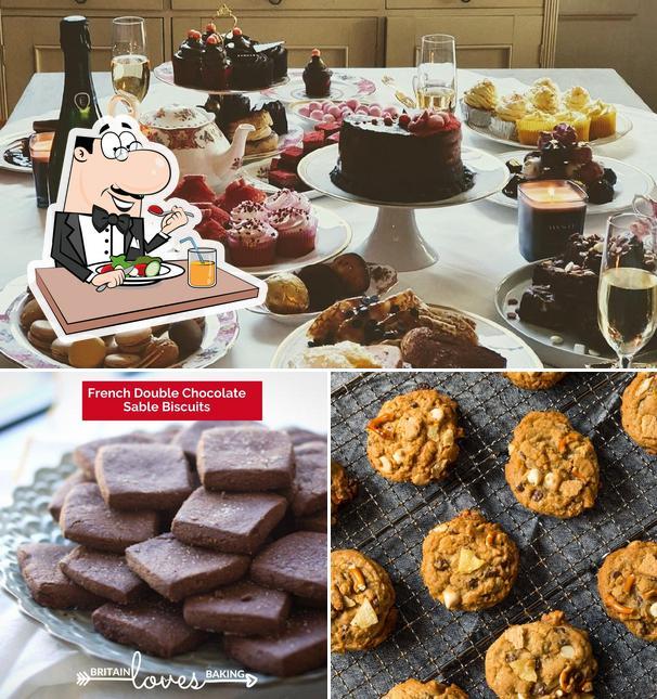 Meals at Britain Loves Baking