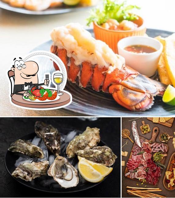 Get seafood at Dawson's Market