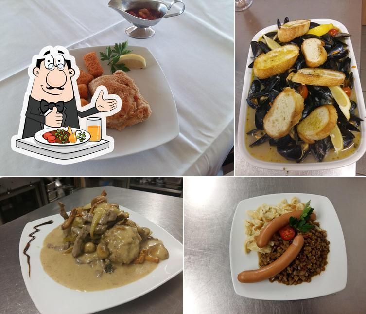 Essen im Gaststätte SV Rohrbach