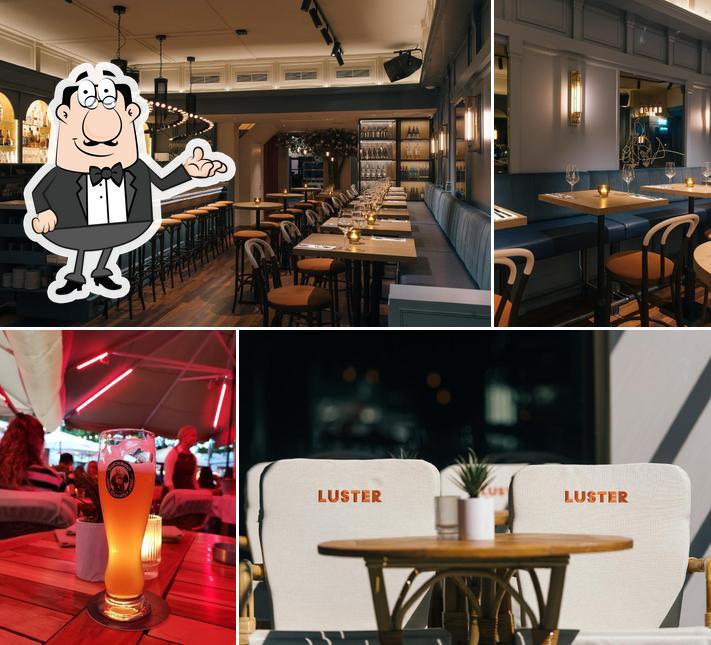 The interior of Luster - Restaurant Maastricht