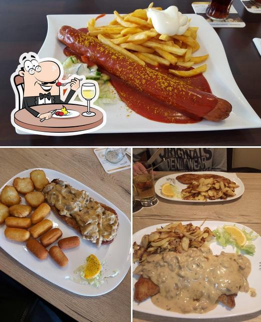 Essen im Collinghorster Grill