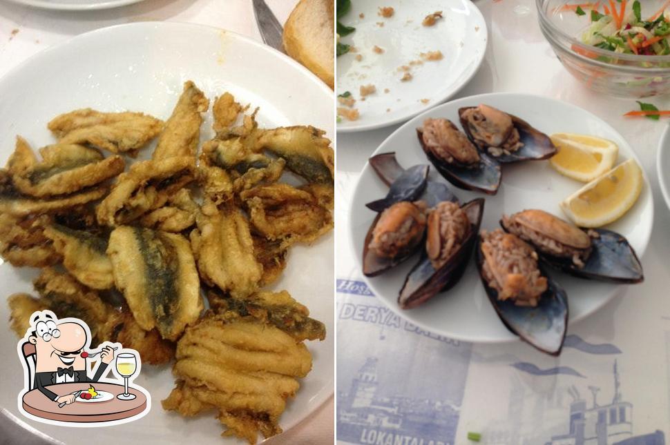 Food at Cihan Derya Balık Lokantası