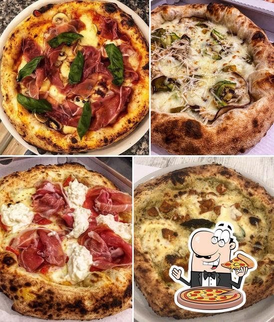 Try out different types of pizza