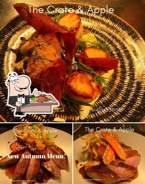 Get seafood at Crate & Apple Pub