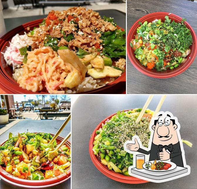 Meals at Hawaiian Poke