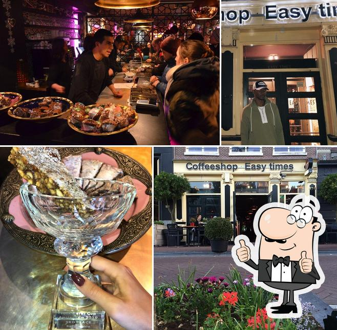 Here's a pic of Easy Times Coffeeshop
