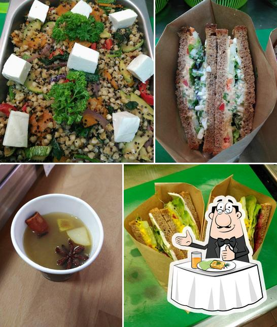 Comida en Tapas del huerto