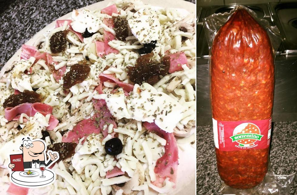 Nourriture à SPIANATA PIZZA