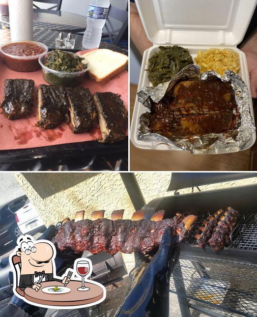 Meals at Angry Deekin BBQ