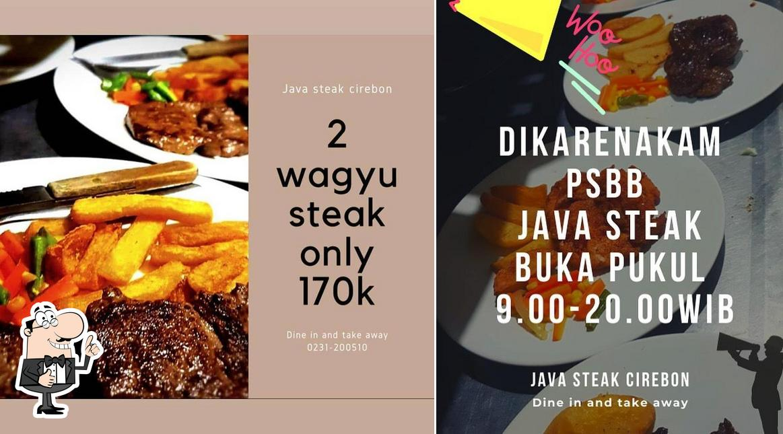 Here's a photo of Java Steak