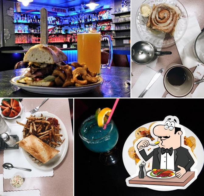 Food at The Pheasant Blue Collar Bar & Grill