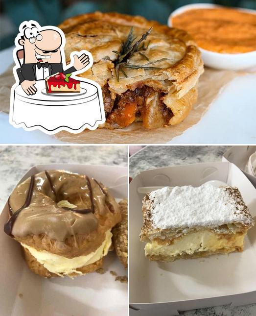 Pastry King provides a selection of sweet dishes